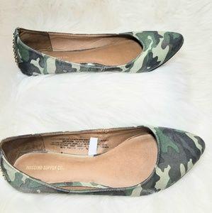 Mossimo Supply Co Camo Flats